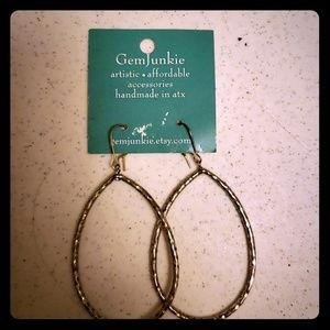 Gemjunkie Handmade Earrings NWT